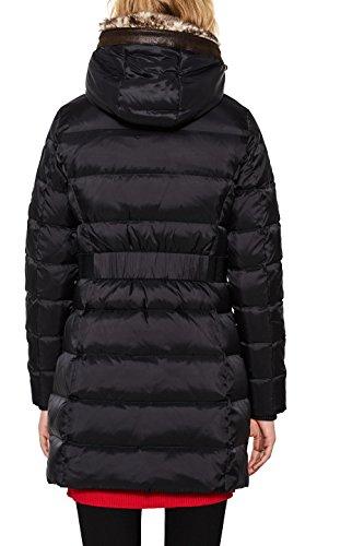Abrigo para Mujer 001 Esprit Black Negro qw0OndH