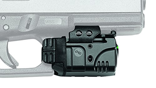 Crimson Trace CMR-204 Rail Master Pro Universal Green Laser & Tactical Light, Green Laser Sight ()