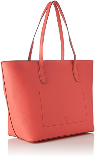 Bolsos Jeans Saffiano Joop Shopper coral Maletín Rosa Lhz Lara Mujer 5HXSOg4qwS