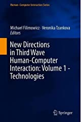 New Directions in Third Wave Human-Computer Interaction: Volume 1 - Technologies (Human–Computer Interaction Series) Hardcover