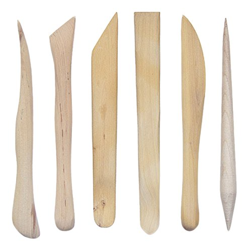 Jack Richeson 210139 Handmade Boxwood Modeling Tools (Set of 10)