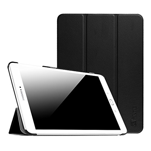 Fintie Samsung Galaxy Tab S2 9.7 Case - Ultra Lightweight Protective Slim Shell Stand Cover with Auto Sleep/Wake Feature for Samsung Galaxy Tab S2 9.7 Inch Tablet, Black