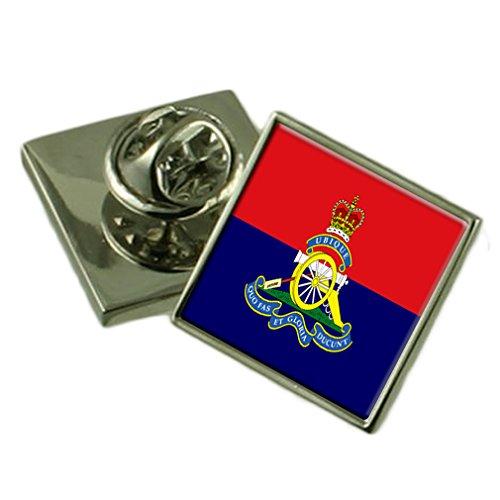 Royal Artillery Regiment Military England Flag Lapel Pin Badge Pouch (Royal Artillery Badge)