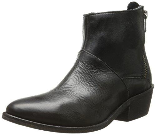 Hudson Fop - botas desert de cuero mujer negro - negro