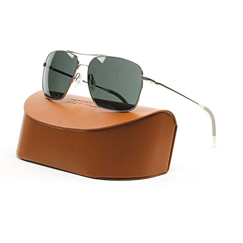 Oliver Peoples Clifton OV1150 Silver w/ Gray Polar - Oliver Peoples Shades