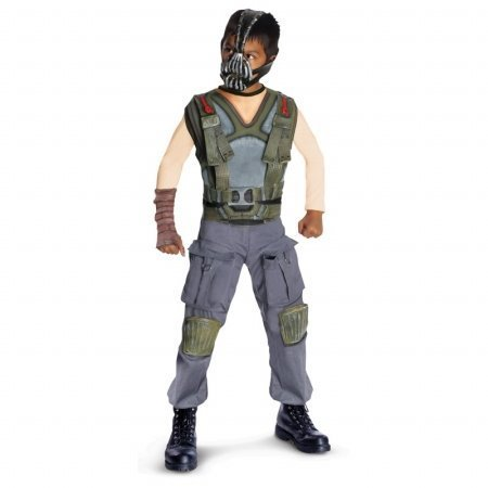 [Deluxe Bane Costume - Large by Morris] (Dark Knight Rises Bane Costumes Sale)