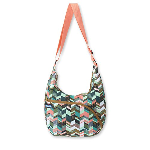 KAVU Singapore Satchel, Coastal Blocks, One Size
