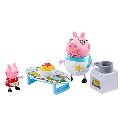 Peppa Pig Juego de compras de Peppa Playset con 2 figuras