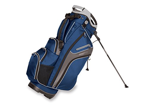 Bag Boy Golf Chiller Hybrid Stand Bag (Royal/Charcoal/Silver)