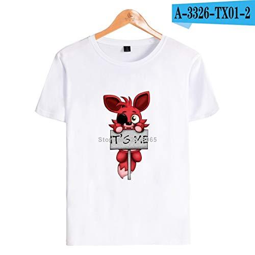 KoreaFashion FNAF Shirt Cotton Merch Shirts for Boys