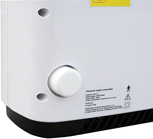 Generador de concentrador de oxígeno portátil Máquina de oxígeno Purificador de aire para el hogar 93% de alta pureza 220 V para uso doméstico y de ...