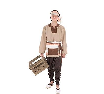 Creaciones Llopis Disfraz de Mercader Medieval para niño ...