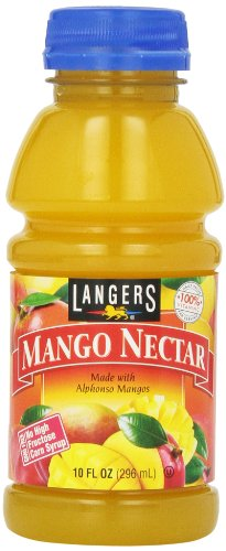 - Langers Juice, Mango Nectar, 10 Ounce (Pack of 12)