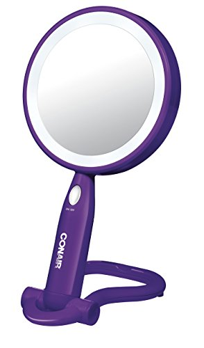 Conair Shaped Plastic Double Lighted