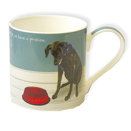- Digs & Manor LDM35 Boxed Fine Bone China Pointer Dog Mug - Houston