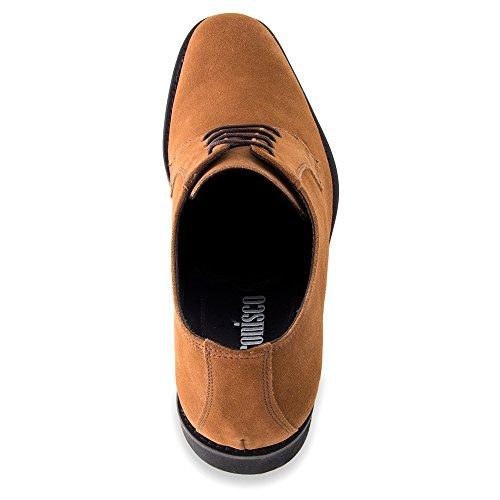 Fino Pelle 7 con in da Rialzo Modello Che cm Lawson Scarpe Aumentano Cuoio Masaltos Uomo l'Altezza Fabbricate a Uw6R8Bnqn