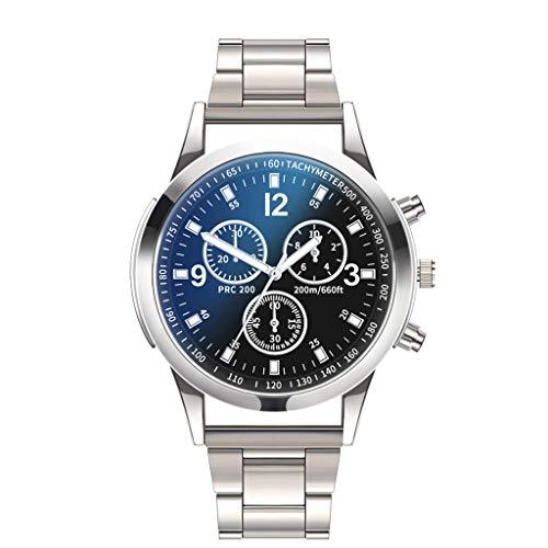 UMFunLuxury Watches Quartz Watch Stainless Steel Dial Casual Bracele Watch (A) ()