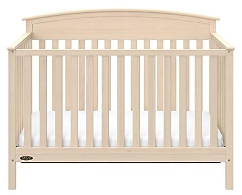 Graco Benton 5-in-1 Convertible Crib, Whitewash (Graco Crib Benton)