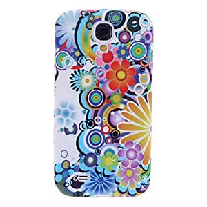Mini - Colorful Flower Pattern Soft Case for Samsung Galaxy S4 I9500
