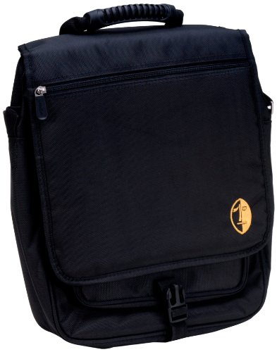 Audio Pc Overhead (Namba Gear Shaka High Perfomance Laptop Messenger Bag for Musicians and DJs,Killer Bee Black, (SLM-KB))
