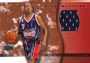 Steve Francis Jersey - 2003-04 Sweet Shot Sweet Swatches #SFSS Steve Francis Jersey