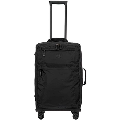 Bric's X-Bag/x-Travel 2.0 Ultralight 25 inch Medium Spinner with Frame, Black/Black by Bric's