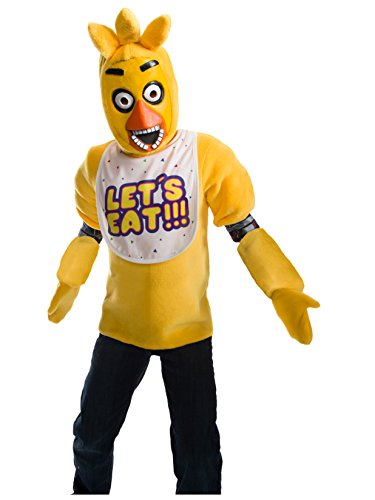 Rubie's Costume Boys Five Nights at Freddy's Chica The Chicken Costume, Medium, Multicolor