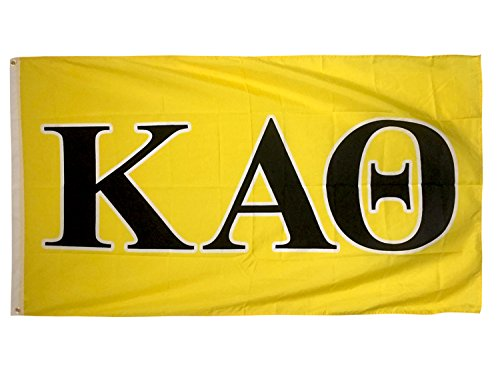 Desert Cactus Kappa Alpha Theta Letter Sorority Flag Greek Letter Use as a Banner Large 3 x 5 Feet ()