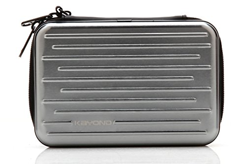 KAYOND Anti-shock Silver Aluminium Carry Travel Protective S