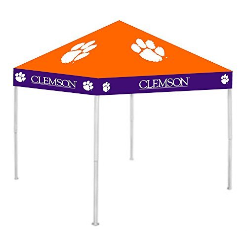 CLEMSON TIGERS NCAA ULTIMATE TAILGATE CANOPY (9X9) by Rivalry Distributing