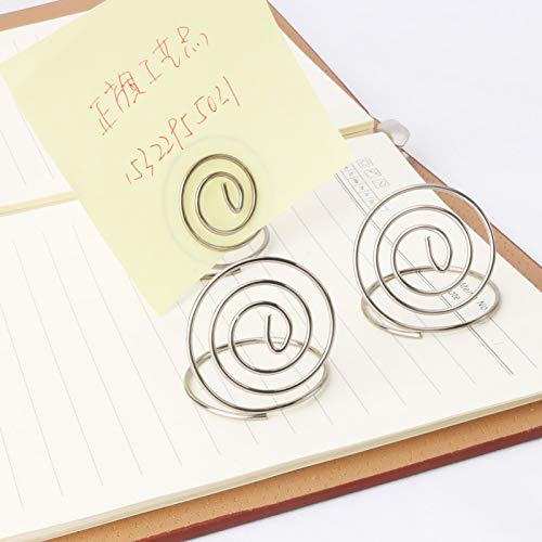 Table Top Wire Place Card Holder Stand Memo Note Recipe Centerpieces Number Dinner Home Party Wedding Birthday Favor Restauran Office Binding Supplies Clips