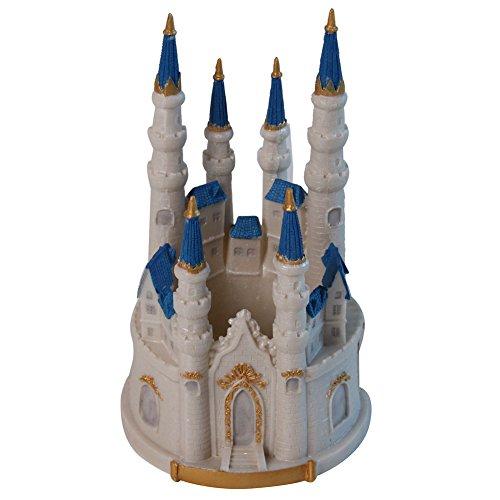 Fairytale Dream Wedding Castle Centerpiece (Castle Cake Topper)