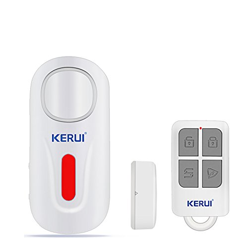 Window/Doors Alarm 2 Chime Voice Loud 120dB with Remote Control And Low Battery Reminder Home Security Sensor Kit (Pool Fence Alarm)