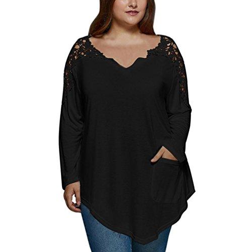 [XL-5XL] レディース Tシャツ 大きなサイズ レース ステッチング 長袖シャツ トップス おしゃれ ゆったり カジュアル 人気 高品質 快適 薄手 ホット製品 通勤通学