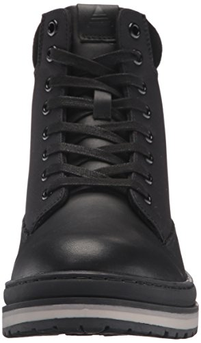 ALDO Mens Weniel Winter Boot, Black Leather, 8 D US