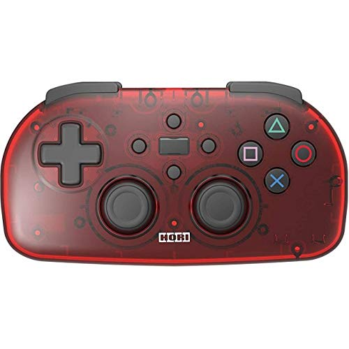PS4 HORI WIRELESS CONTROLLER LIGHT FOR PLAYSTATION 4 (CLEAR RED) ()