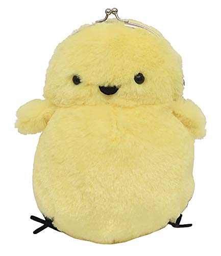 - QZUnique Lovely Carton Chick Shaped Faux Fur Bag Shoulder Bag Crossbody Bag