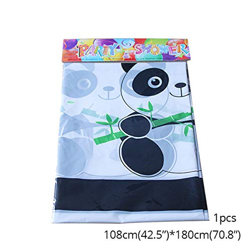 Panda Bear Montum Party Supplies Tablecloths 1Pcs]()