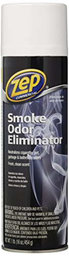 Smoke Odor Eliminator - Zep Commercial Smoke Odor Eliminator 16 Ounce - 2-Pack