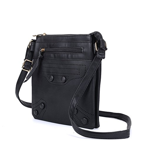 Women Quality Body Bags SALLY High Bag Cross Leather Nice Fashion PU YOUNG Black SR8nIwE