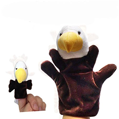 Diy Storybook Costumes For Boys (Hot 2Pcs (1 Big+1 Small) Lovely Kids Baby Plush Toys Finger Puppet Props Animals Hand Puppets^DB02912.)