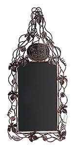 Epic Products Grapevine Wine Bottle Chalkboard, Multicolor