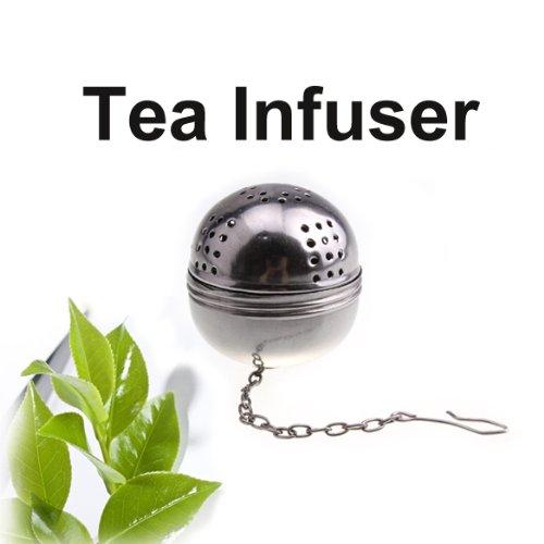 Stainless Steel Teakettles Infuser Strainer Egg Shaped Tea Locking Spice Ball For Kitchen Households Tea ball -Ez2Shop