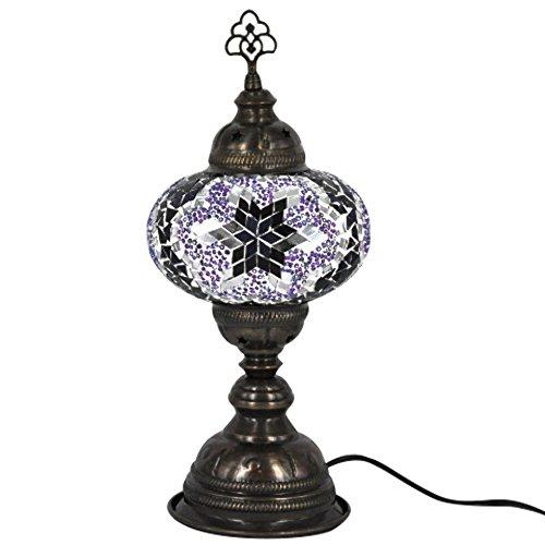 Turkish Mosaic Table Lamp - 6