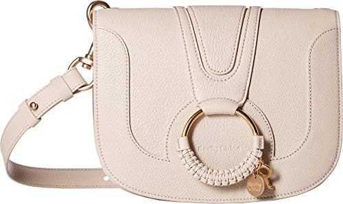 - See by Chloe Women's Hana Suede & Leather Tote Cement Beige One Size