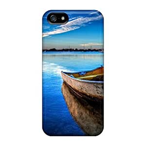 Little Boat Tied Up In The Bay/ Fashionable Case For Sam Sung Galaxy S5 Cover