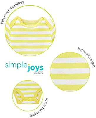 Simple Joys by Carter's Baby Boys' 4-Piece Bodysuit, Pant, Bib and Sock Set by Simple Joys by Carter's that we recomend personally.