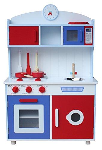 Kidzmotion La Gourmet Cuisine Wooden Pretend Play Kitchen Unisex