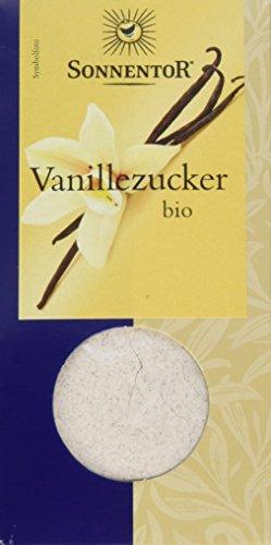 Sonnentor Vanillezucker gemahlen, 1er Pack (1 x 50 g) - Bio