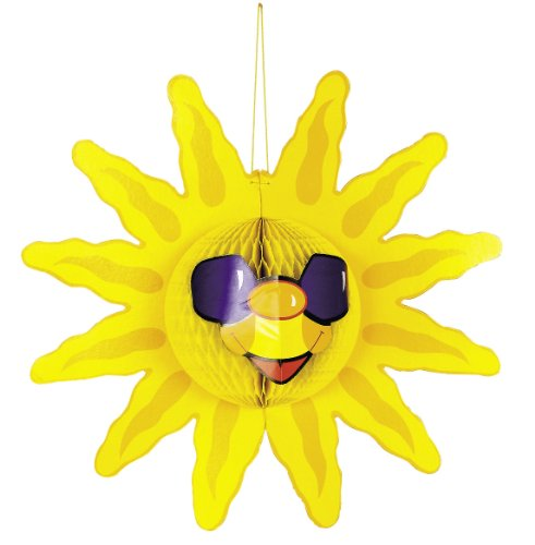 Fun Express Tissue Sun Decoration